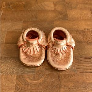Freshly Picked Soft Sole Moccasins Size 1